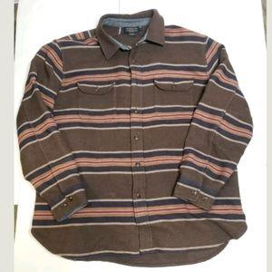 Pendleton Blanket Stripe Overshirt San Miguel